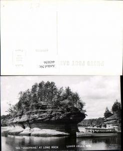 443036,Wisconsin Lower Dells Josephine at Lone Rock Felsen Boot
