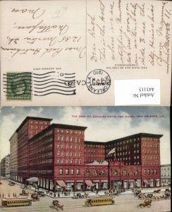 443115,Louisiana New Orleans St. Charles Hotel and Annex Gebäude