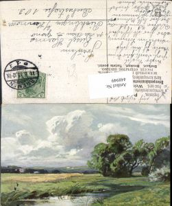 448949,Künstler AK Splitgerber Landschaft