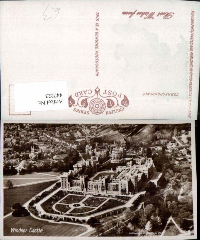 447223,England Windsor Castle Schloss Fliegeraufnahme