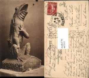 447512,Blois Ancienne Gargouille Grenouille Tier Frosch Figur