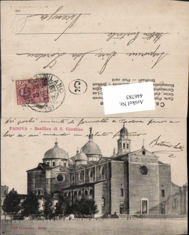 446785,Veneto Padova Padua Basilica di S. Giustina Kirche