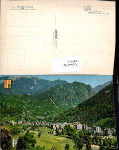 449916,Andorra Les Escaldes Vista general Totale Bergkulisse
