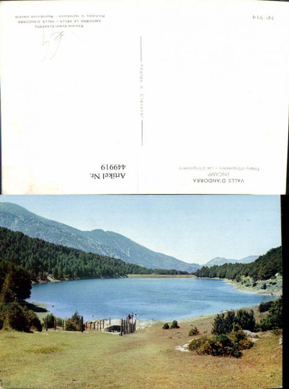 449919,Andorra Encamp Estany Engolasters See