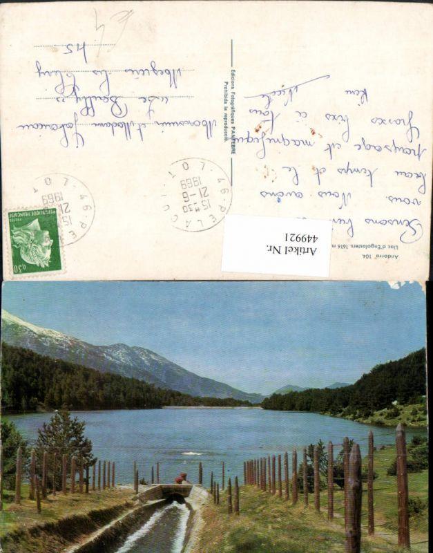 449921,Andorra Llac Engolasters See Bergkulisse