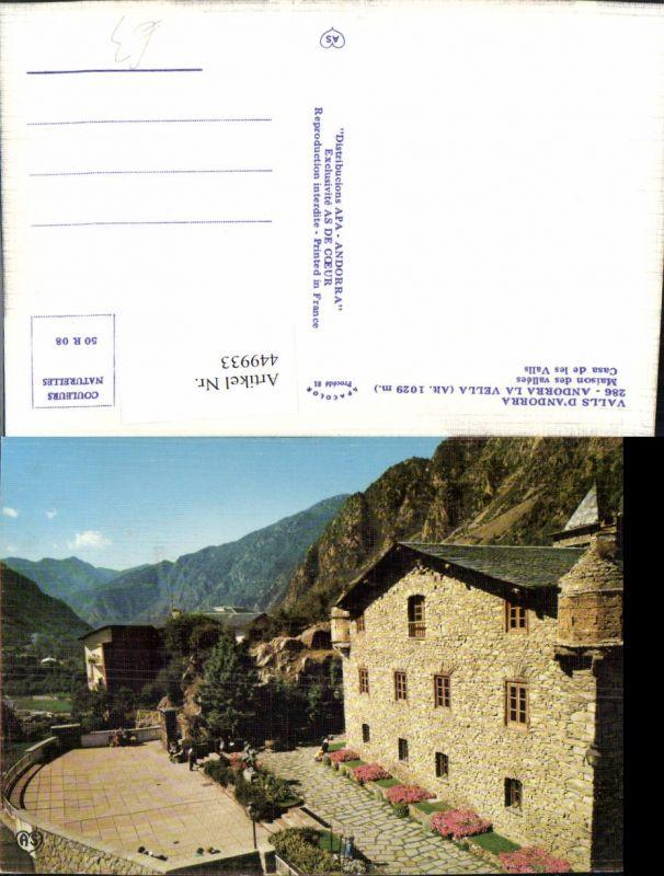 449933,Andorra La Vella Maison des vallees Haus Bergkulisse