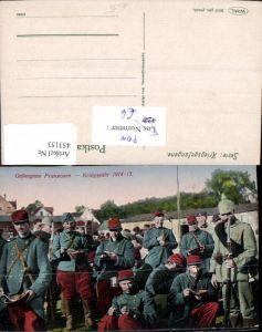 453153,WW1 POW Kriegsgefangene Franzosen Essen Bajonett