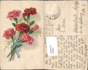 450861,Meissner & Buch 3036 Künstlerkarte Nelken Blumen