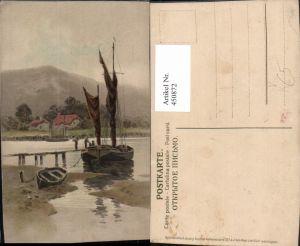 450872,Meissner & Buch 1337 Auf dem Weg zum Glück Segelboot