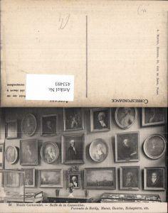 453493,Paris Carnavalet Museum Portraits de Bailly Marat Danton Robespiere Maler Künstler