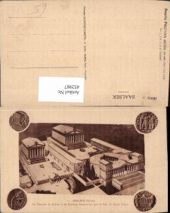 452987,Lebanon Baalbek Temples de Jupiter Tempel