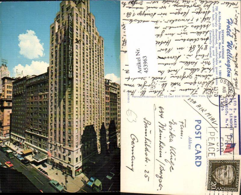 453963,New York City Seventh Avenue Hotel Wellington