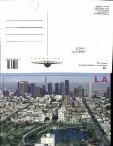 454025,California Los Angeles Skyline McArthur Park