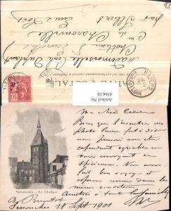 456618,Centre Eure-et-Loire Senonches Le Clocher Glockenturm