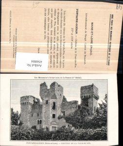 456884,Pays de la Loire Maine-et-Loire Fontaine-Guerin Chateau Tour-du-Pin Schloss