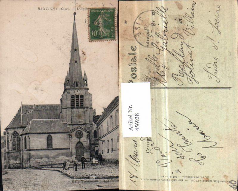 456938,Picardie Oise Rantigny L'Eglise Kirche