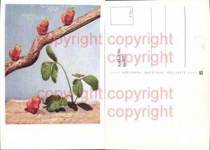 464022,Erdbeeren Figuren Ast Tierfigur aus Erdbeere Obst Früchte