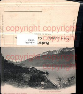 460068,Brienz Teilansicht m. Sustenhörner Bergkulisse Kt Bern