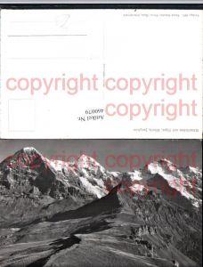 460079,Männlichen m. Eiger Mönch Jungfrau Bergkulisse Kt Bern