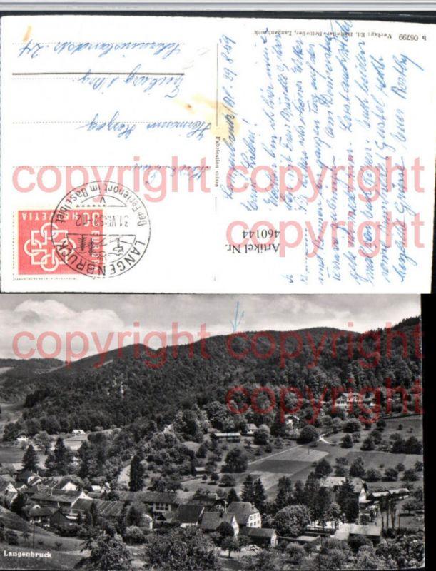 460144,Langenbruck Teilansicht Kt Basel-Land