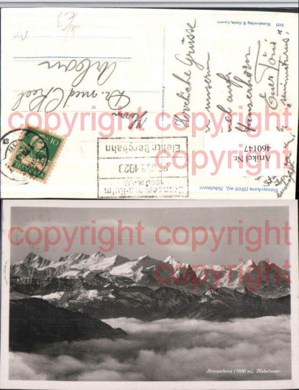 460147,Stanserhorn Stans Nebelmeer Bergkulisse Kt Nidwalden