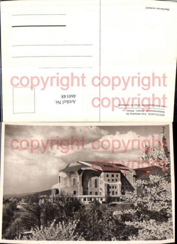 460148,Dornach Goetheanum Hochschule Kt Solothurn
