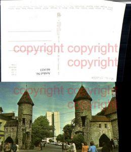 461433,Estonia Tallinn Viru Wieru-Straße Straßenansicht Türme
