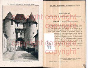 461925,Centre Indre Levroux Porte de Chateau Schlosstor