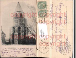462543,Midi-Pyrenees Tarn Soreze Clocher Glockenturm