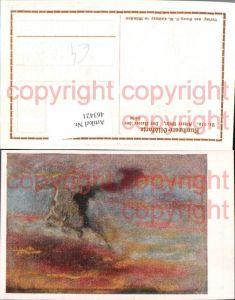 463421,Künstler AK Albert Welti Reiter der Höhe Erscheinung pub Georg Callwey 216