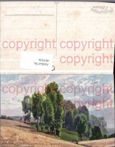 463426,Künstler AK Walter Kopp Landschaft Wald