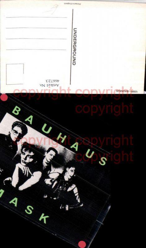 466723,Musiker Band Bauhaus
