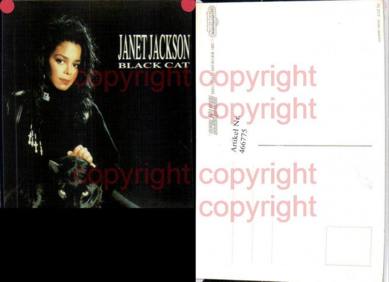 466775,Musikerin Sängerin Janet Jackson Black Cat Panther