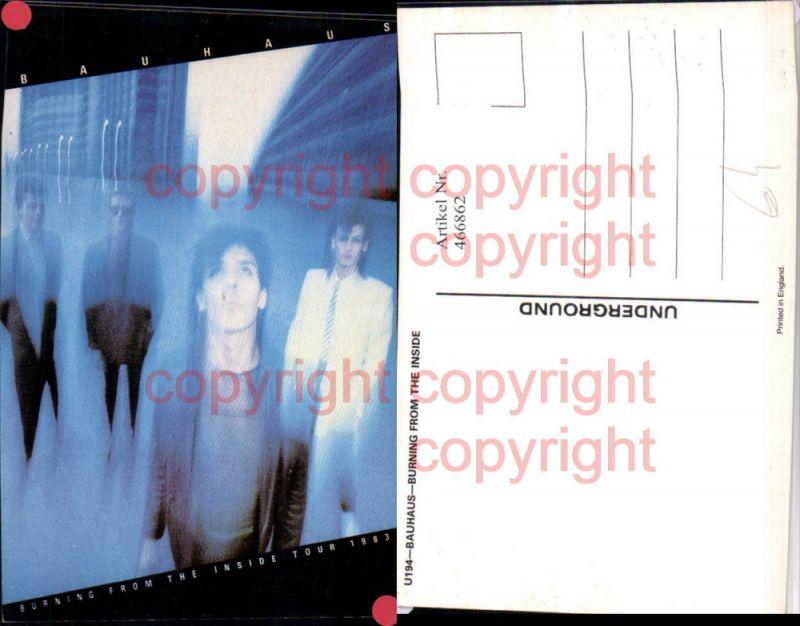 466862,Musiker Band Bauhaus Tour 1983 Gruppenbild