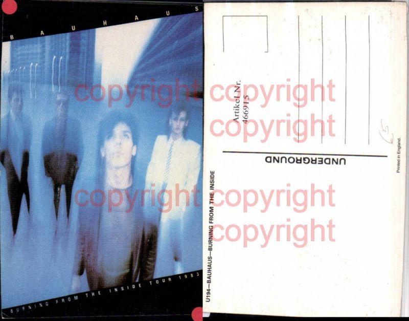 466915,Musiker Band Bauhaus Tour 1983 Gruppenbild