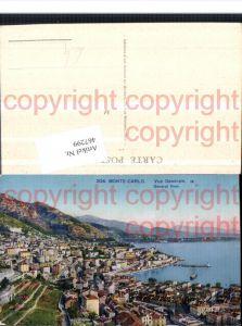 467299,Monaco Monte-Carlo Vue Generale Totale