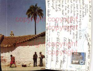 468017,Bolivia Sucre Motiv Volkstypen Palme