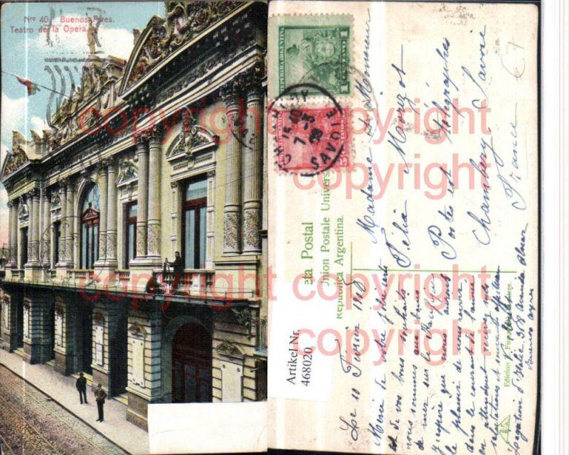 468020,Argentina Buenos Aires Teatro de la Opera Gebäude