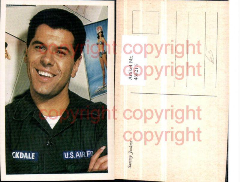 468215,Schauspieler Sammy Jackson Portrait Uniform US Air Force