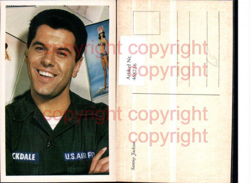 468216,Schauspieler Sammy Jackson Portrait Uniform US Air Force
