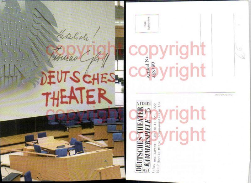 468380,Reklame Deutsches Theater Kammerspiel Berlin