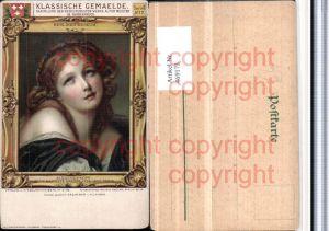 469173,Künstler AK Jean Baptiste Greuze Mädchenkopf Portrait