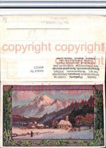 469223,Künstler AK Splitgerber jun. Landschaft Bergkulisse Passepartout