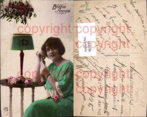 465630,Einrichtung Lampe Telefon Telephon Frau Tischlampe