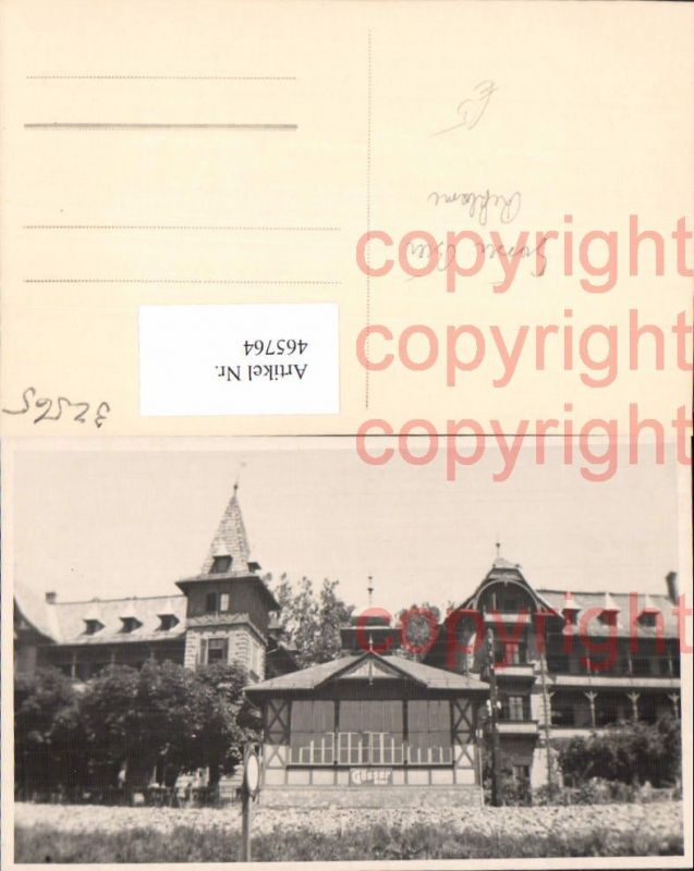 465764,Foto Ak Gebäude Gösser Bier Reklame Schild