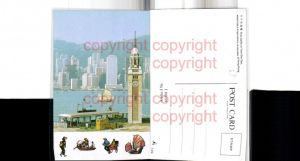 469941,China Hong Kong Hongkong Tsim Sha Tsui Teilansicht Turm
