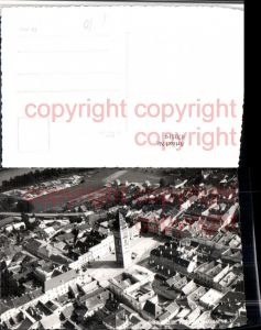 470319,Enns Teilansicht Stadtturm Fliegeraufnahme