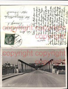 470321,Enns Teilansicht Brücke Straßenansicht