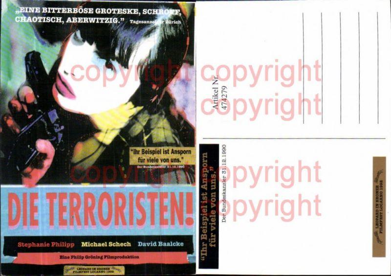 474279,Film Reklame Die Terroristen Stephanie Philipp Michael Schech David Baalcke