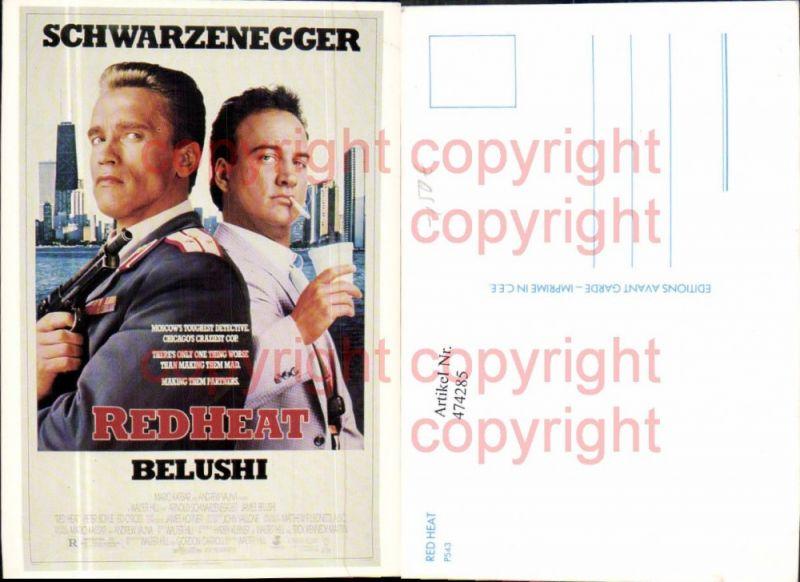 474285,Film Reklame Red Heat Schwarzenegger Belushi